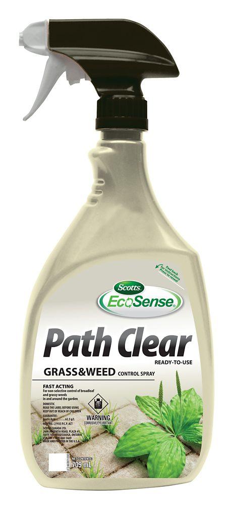 Répression non sélective des mauvaises herbes EcoSense de Scotts