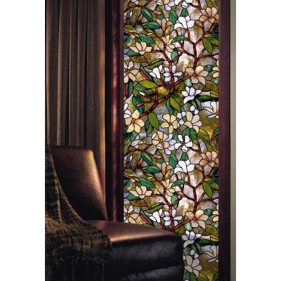 Artscape Magnolia Decorative Window Film 24 In. x 36 In.