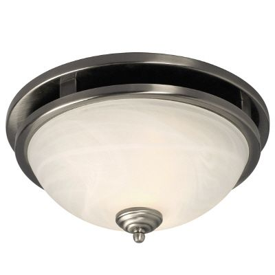 Ceiling Fixture With Marbled Glass 001-80040 BN in Canada