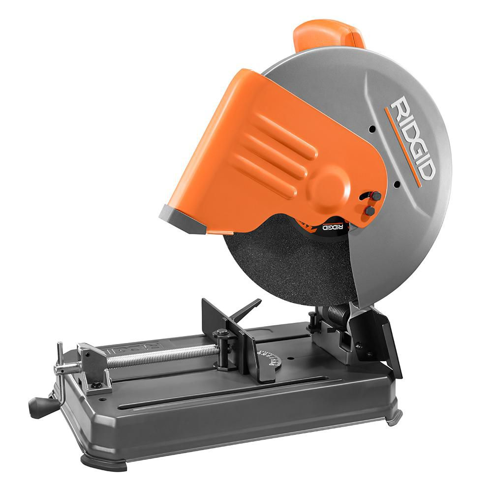 Ridgid 14 Inch Abrasive Cut Off Machine The Home Depot