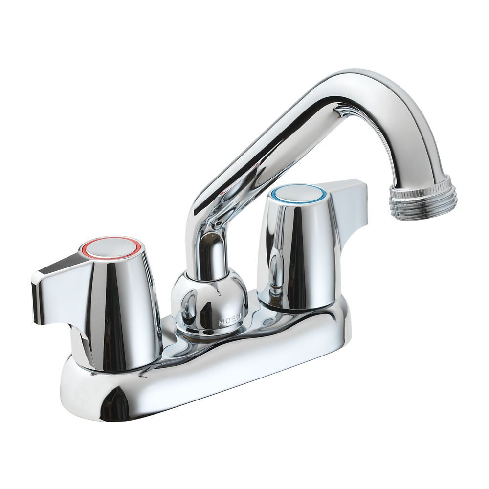 Manor 2 Handle Laundry Faucet - Chrome Finish