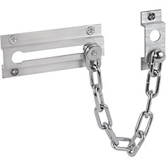 Satin Nickel Chain Door Lock