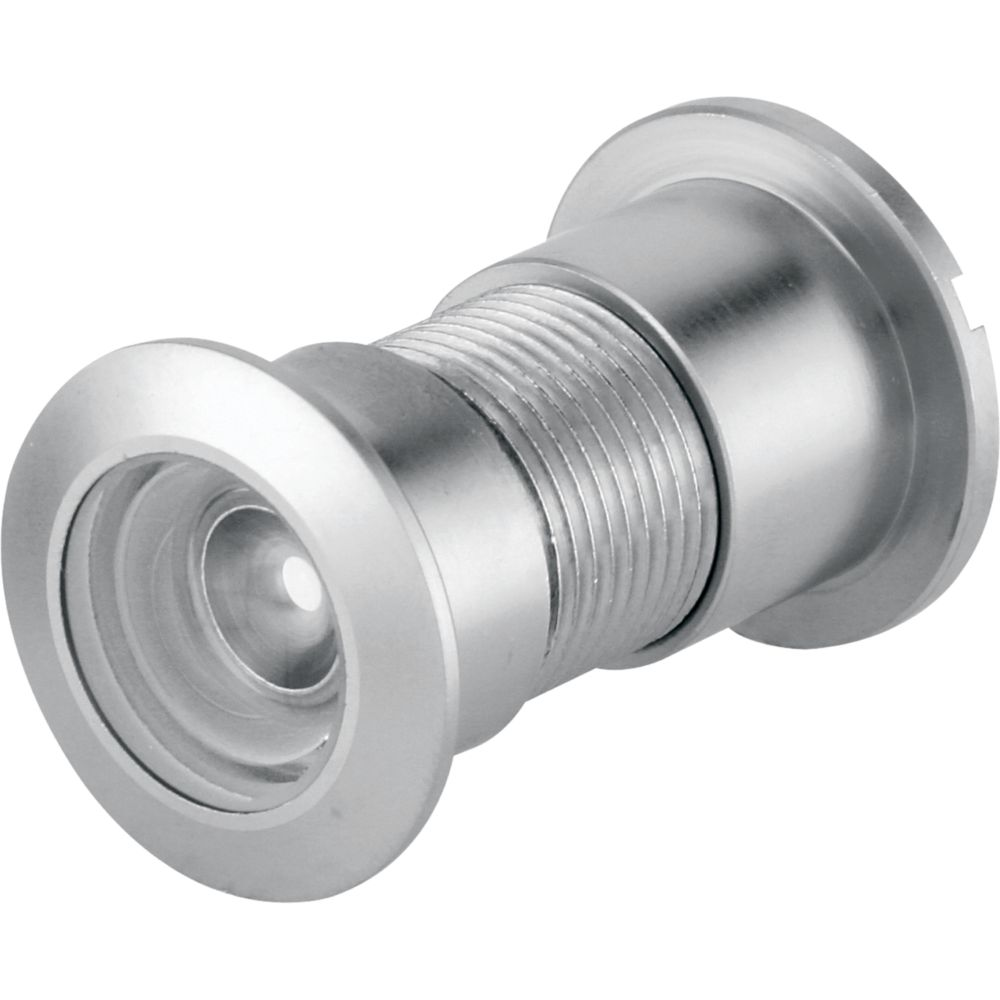 1-inch 160 Degree Satin Nickel Door Viewer