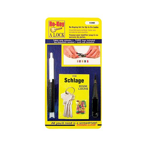 Prime-Line Schlage Rekeying Kit