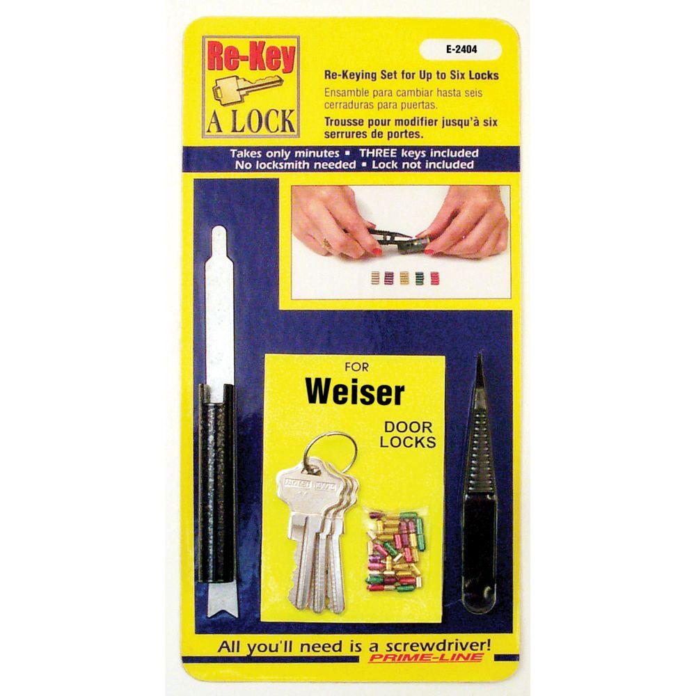 Kit Weiser de remplacement de serrure