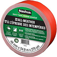 1.89 in x 60 yd 398 All-Weather Duct Tape Red