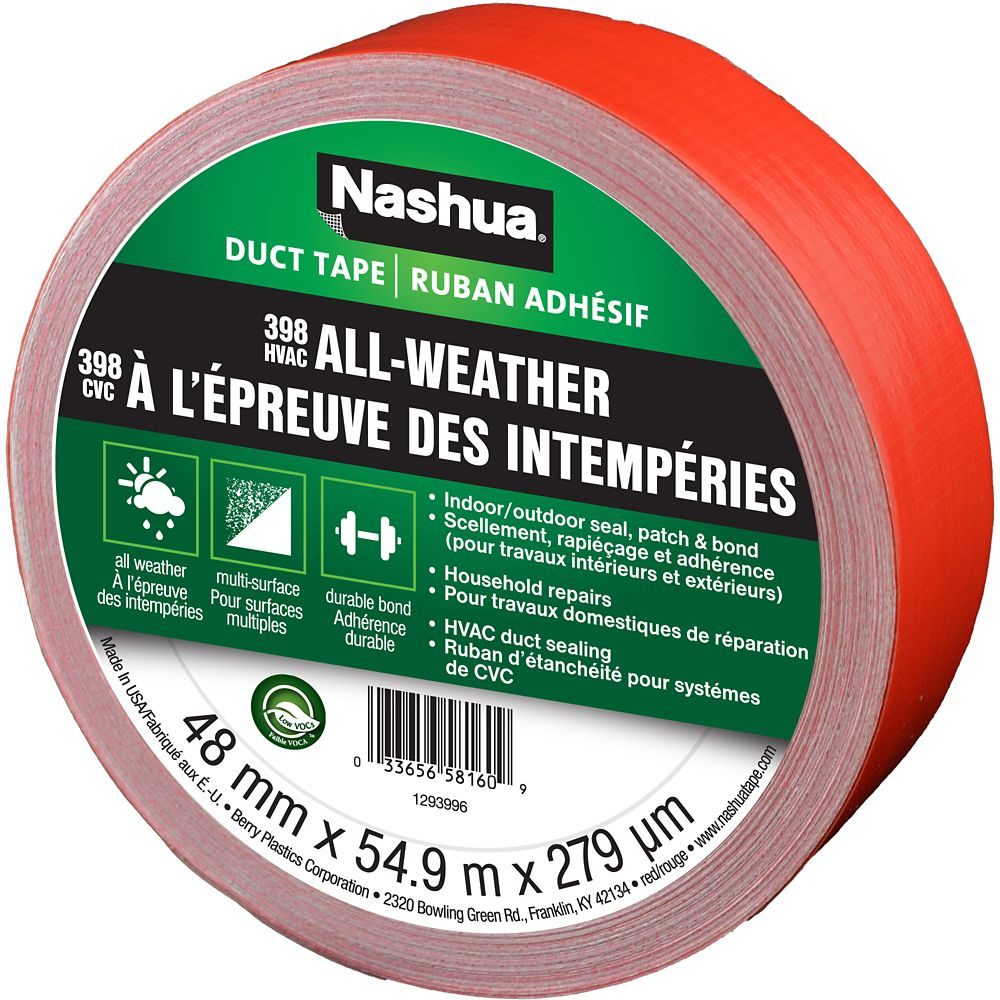 Nashua 398 All-Weather Duct Tape Red 48mm x 54.9m