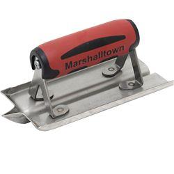 Marshalltown Outil à rainurer en acier inoxydable 6 po X 3 po (152 cm x 76 mm); pointe 1/2 po (13 mm)