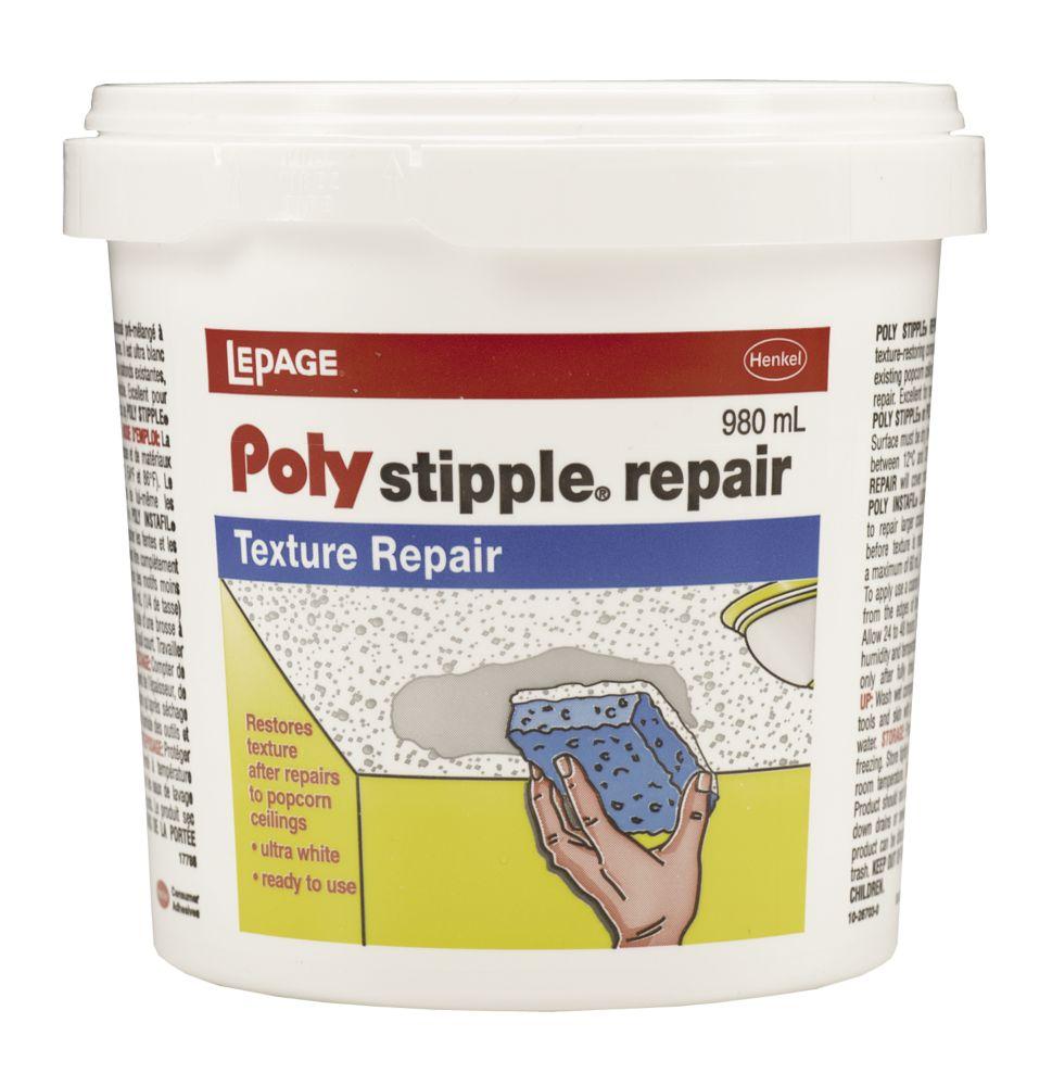 LePage<sup>®</sup> PolyTM Stipple Repair 980ml