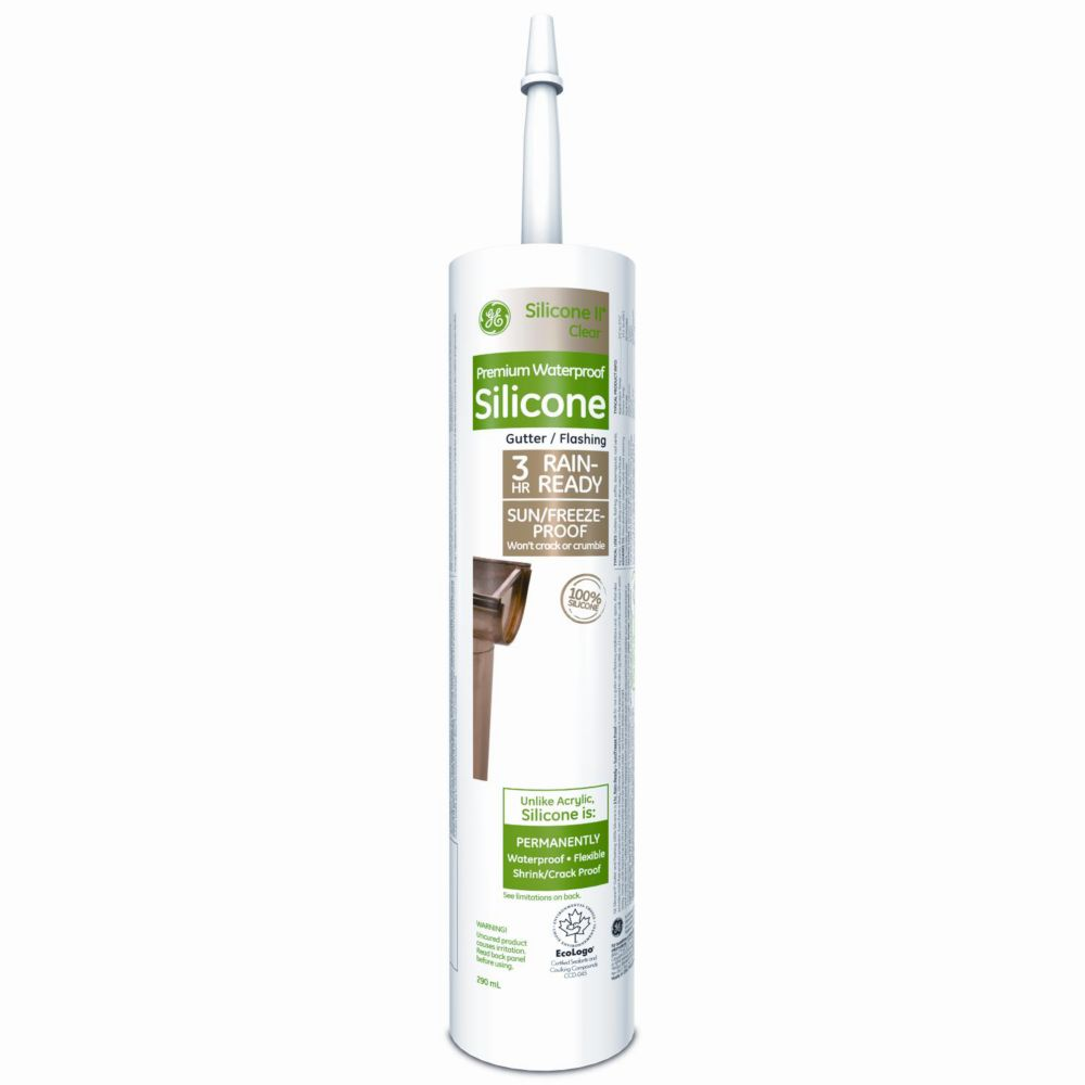 Gutter & Flashing, Clear, 290 mL