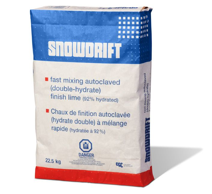 Snow Drift -  Double Hydrated Finishing Lime