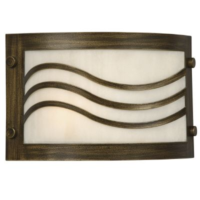 Wall Sconce With White Lens