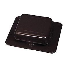 50 NFA Black Roof Louver Aluminum Square Top