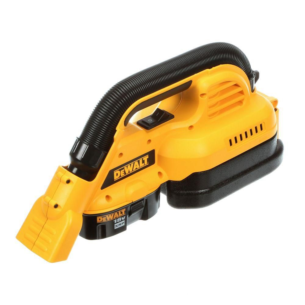 18V Cordless 1/2 Gallon Wet/Dry Portable Vac
