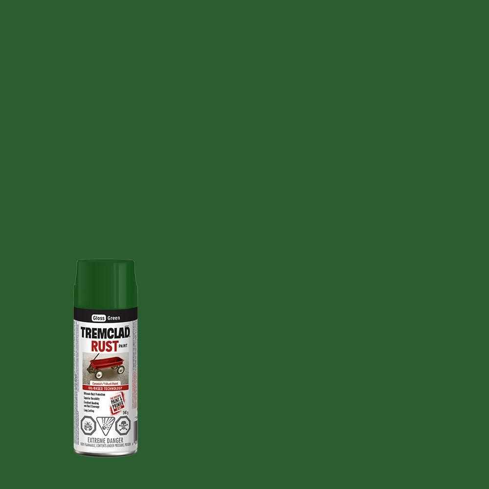 Peinture anti-rouille - Vert (340g Aerosol)