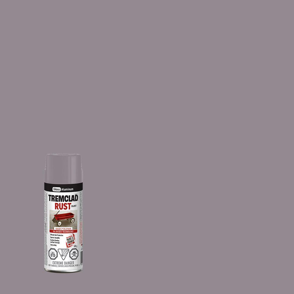 Peinture anti-rouille - Aluminium (340g Aerosol)
