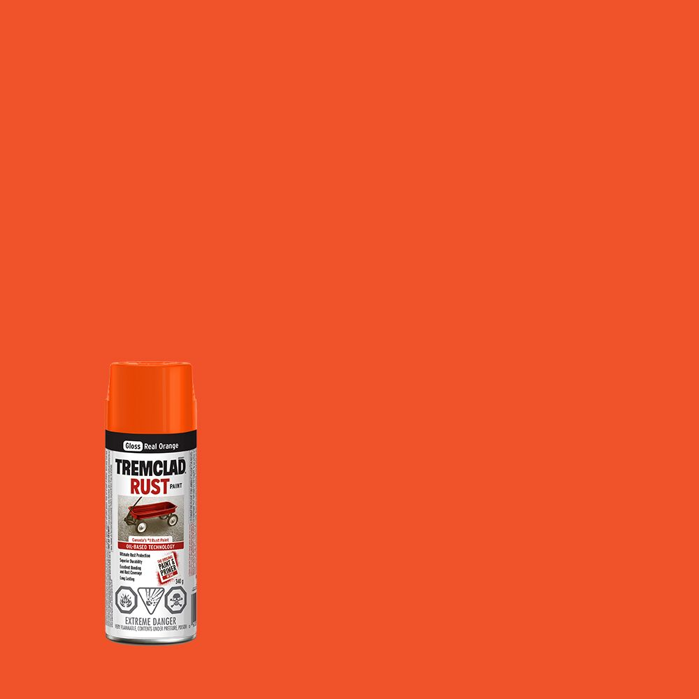 Rust Paint - Real Orange (340g Aerosol)