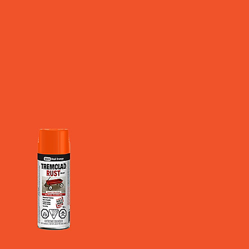 Oil-Based Rust Paint In Gloss Real Orange, 340 G Aerosol Spray Paint