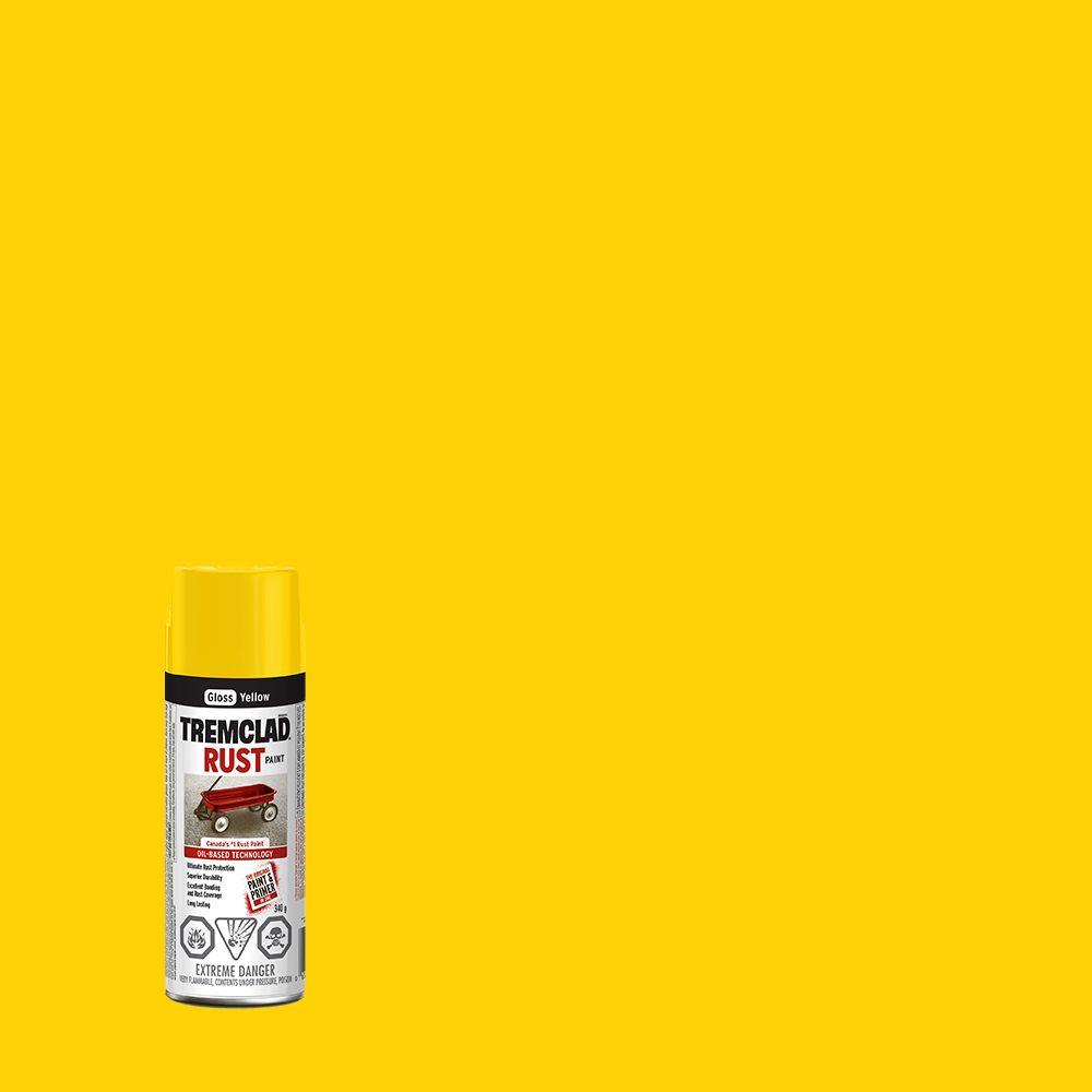 Rust Paint - Yellow (340g Aerosol)