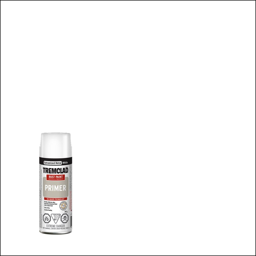 Rust Primer - Galvanized White (340g Aerosol)