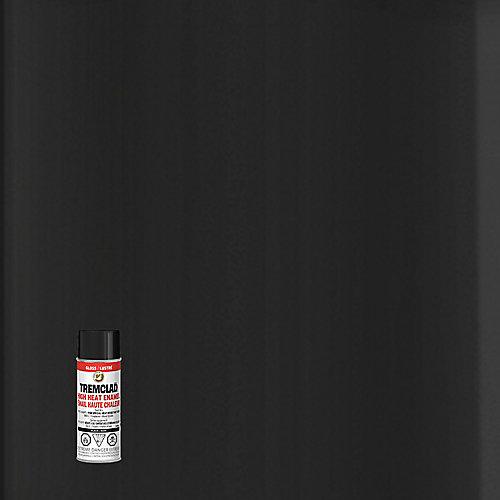 High Heat Enamel In Gloss Black, 340 G Aerosol Spray Paint