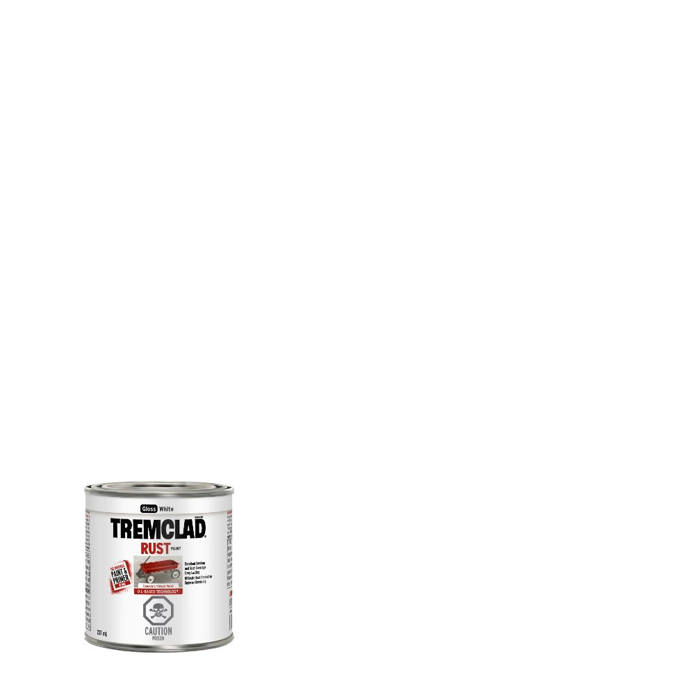 TREMCLAD Rust Paint - White (237ml)