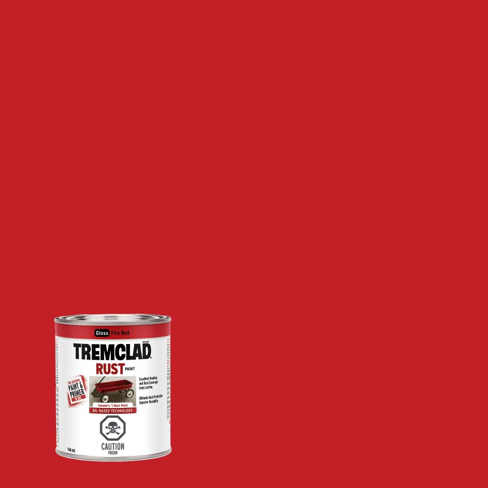 TREMCLAD Rust Paint - Fire Red (946ml)
