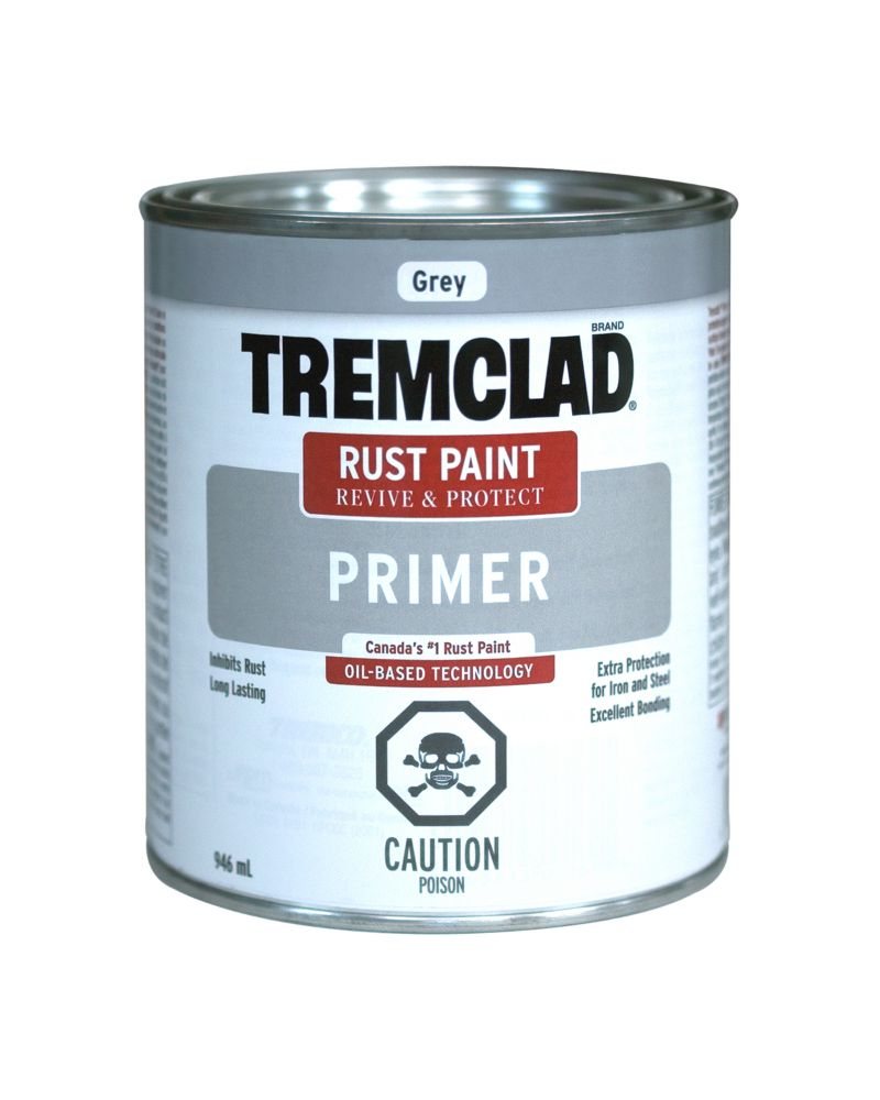 Tremclad Rust Primer Galv White 946Ml