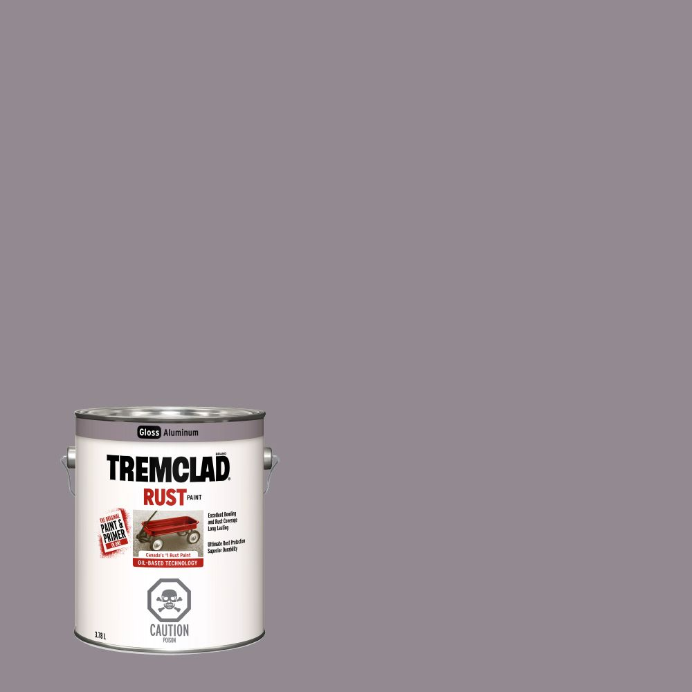 Tremclad Rust Paint Aluminum 3.78L