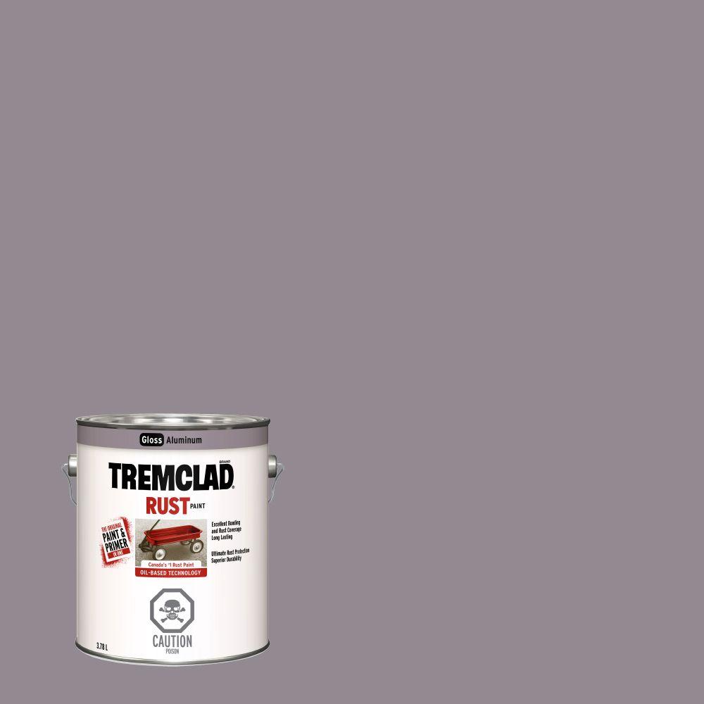 Tremclad Rust Paint Aluminum 3.78L