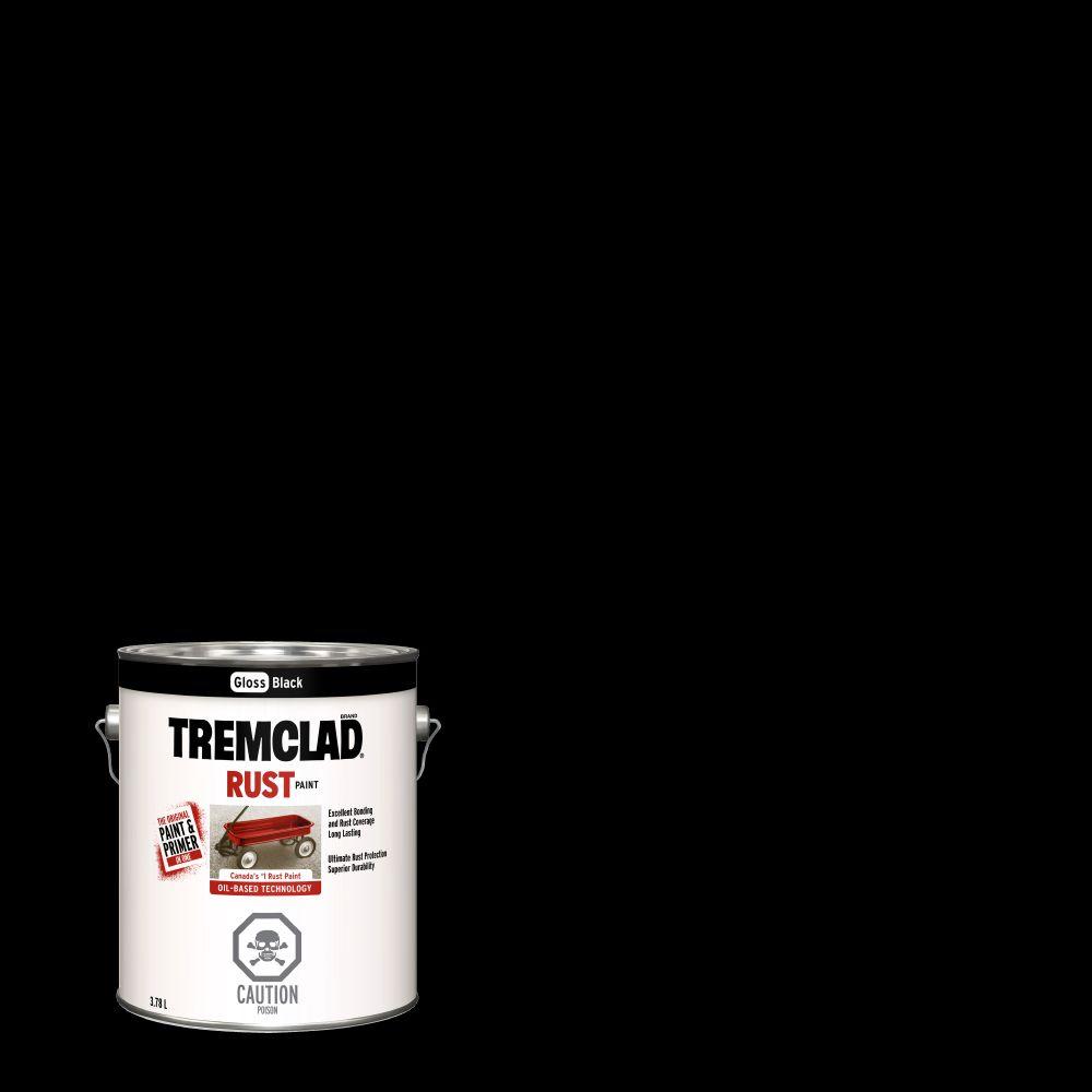 Tremclad -Gloss Black -3.78L