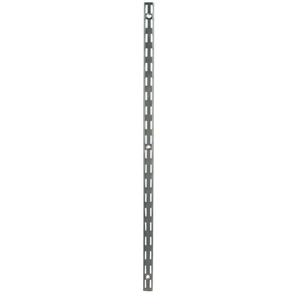 47.5 Inch Satin Nickel Twin Track Upright