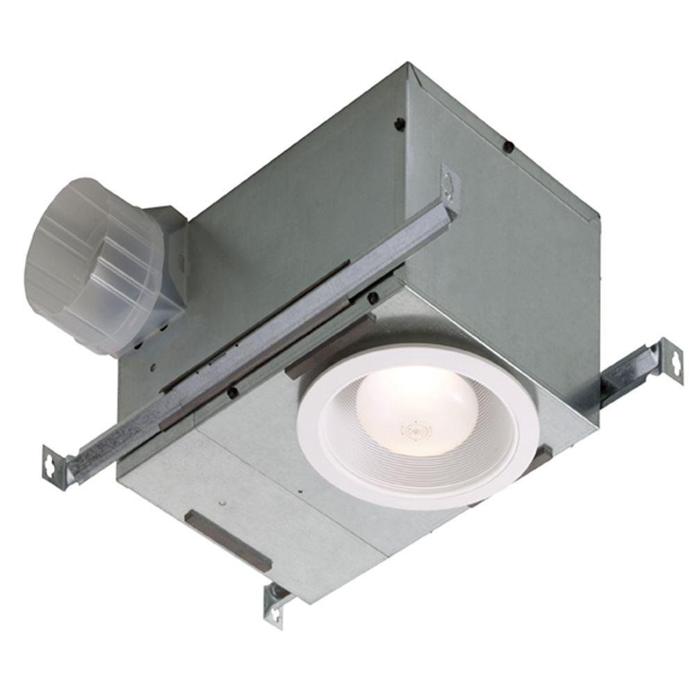 Recessed Fan/Light - 70 CFM