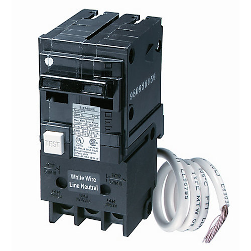 15A 2 Pole 120/240V Type Q GFCI Breaker