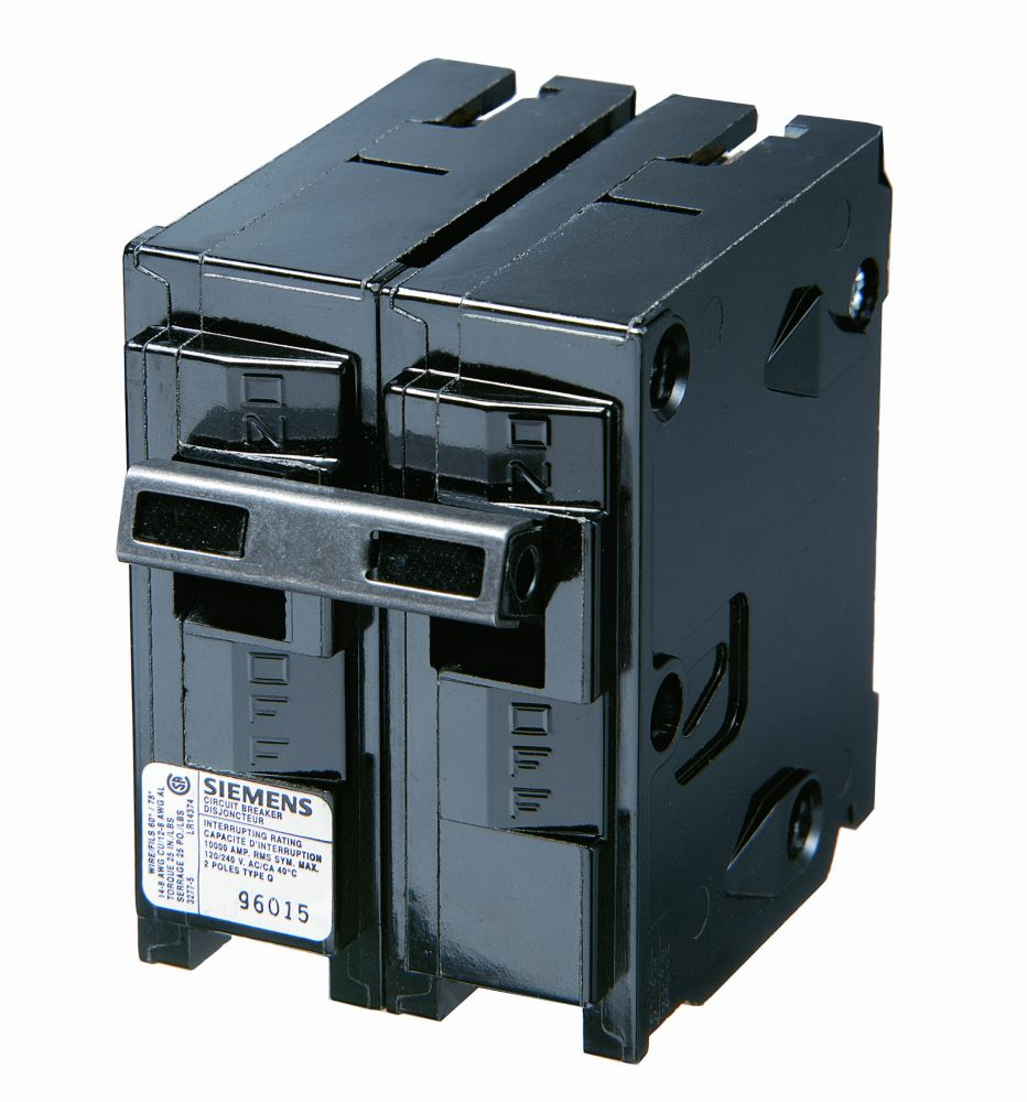 Siemens Qf240 40 Amp 2 Pole 240 Volt Ground Fault Circuit Interrupt Interrupter Discontinued By Manufacturer