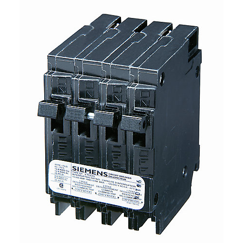 15/30A 2 Pole 120/240V Quad Type Q Breaker