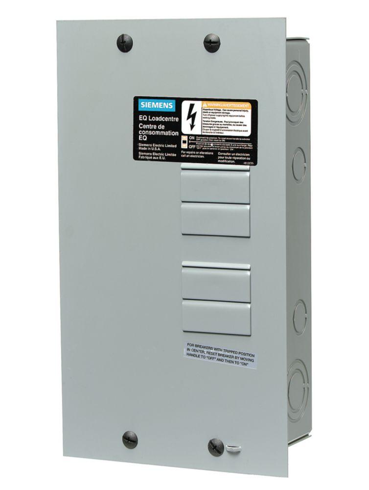 Siemens 4/8 Circuit 100A 120/240V Loadcentre