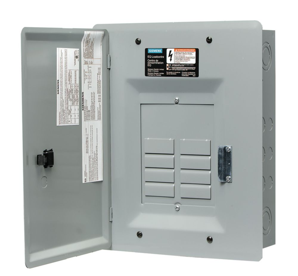 8/16 Circuit 100A 120/240V Siemens Loadcentre