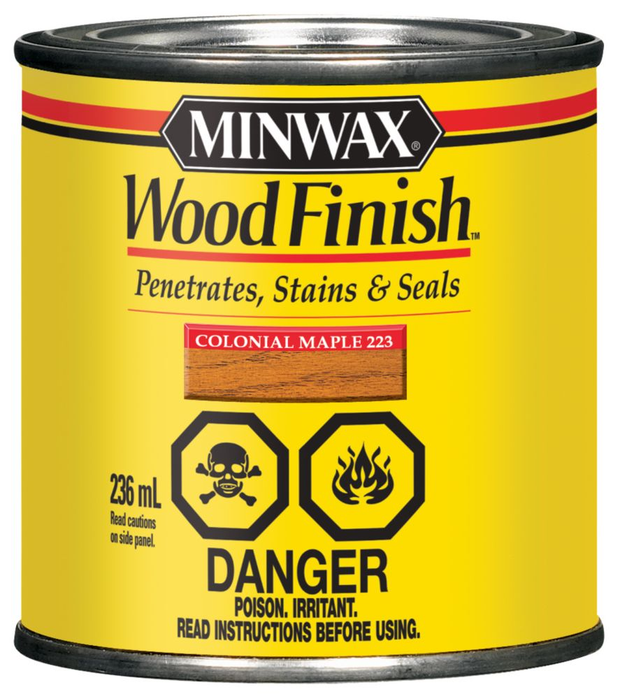 Wood Finish - Colonial Maple
