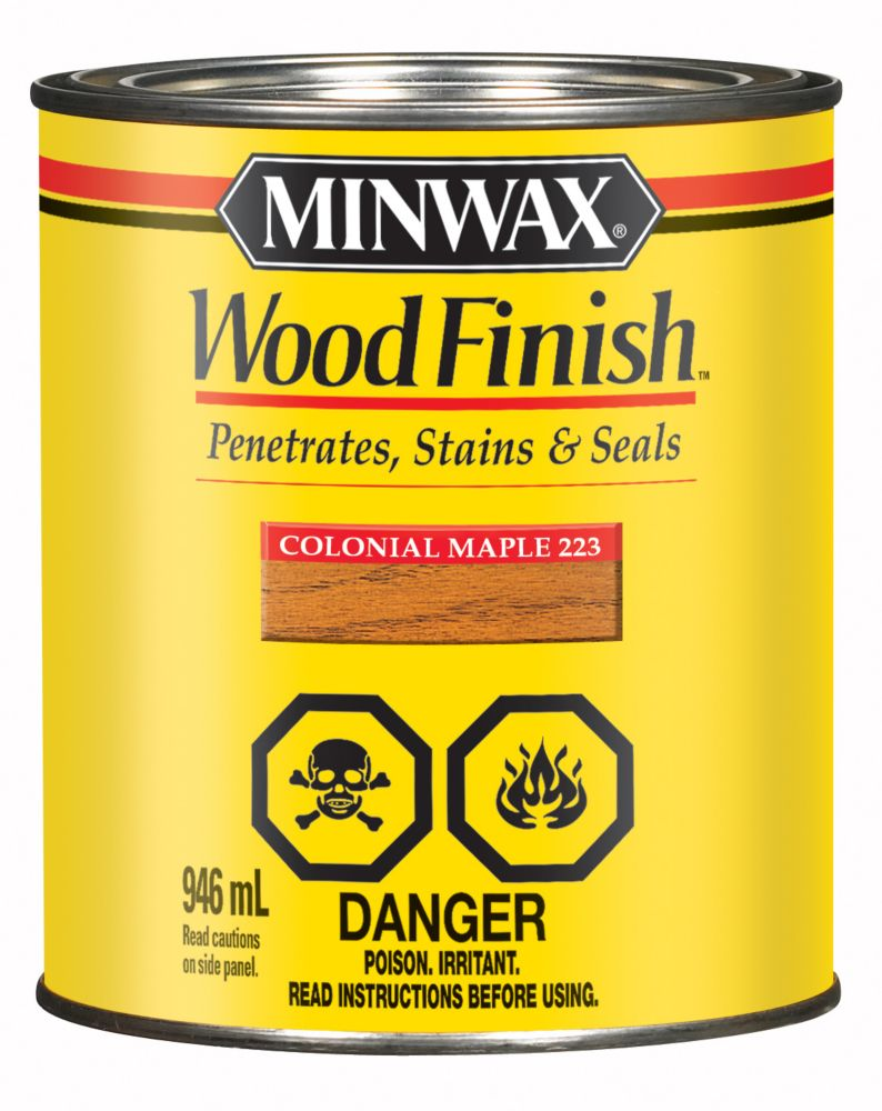 Minwax Wood Finish - Colonial Maple