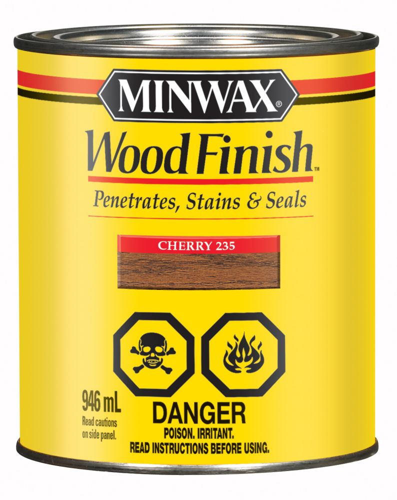 Minwax wood finish cherry the home depot canada - Interior wood stain colors home depot ...