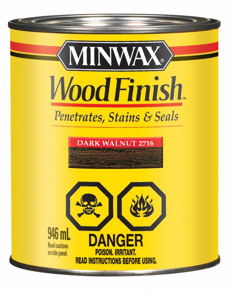 Wood Finish - Dark Walnut