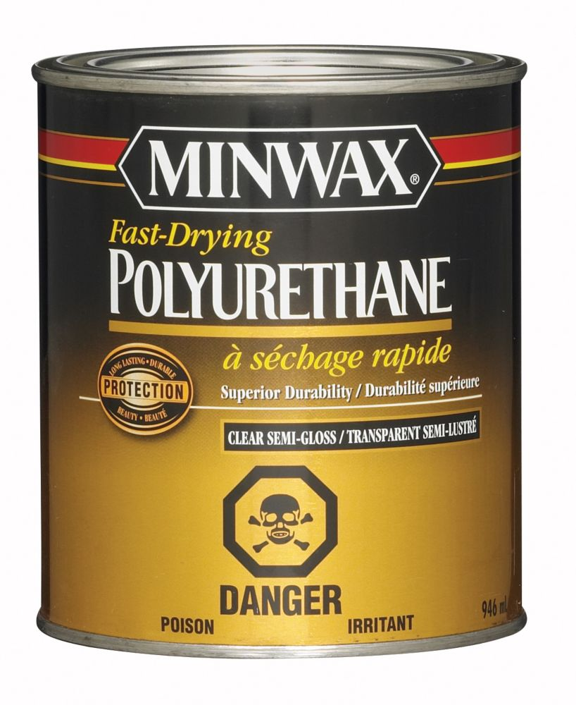 Polyurethane Kitchen Cabinets: Minwax Polyurethane - Semi-Gloss