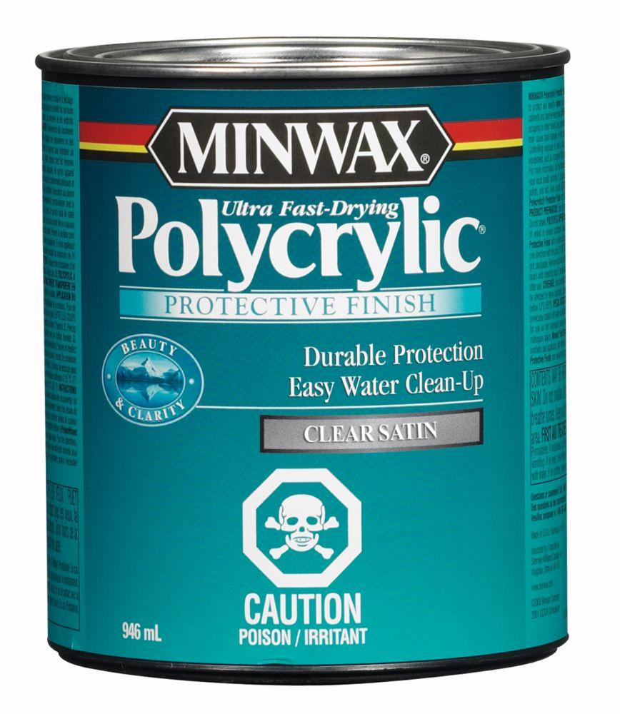Minwax Polycrylic - Satin