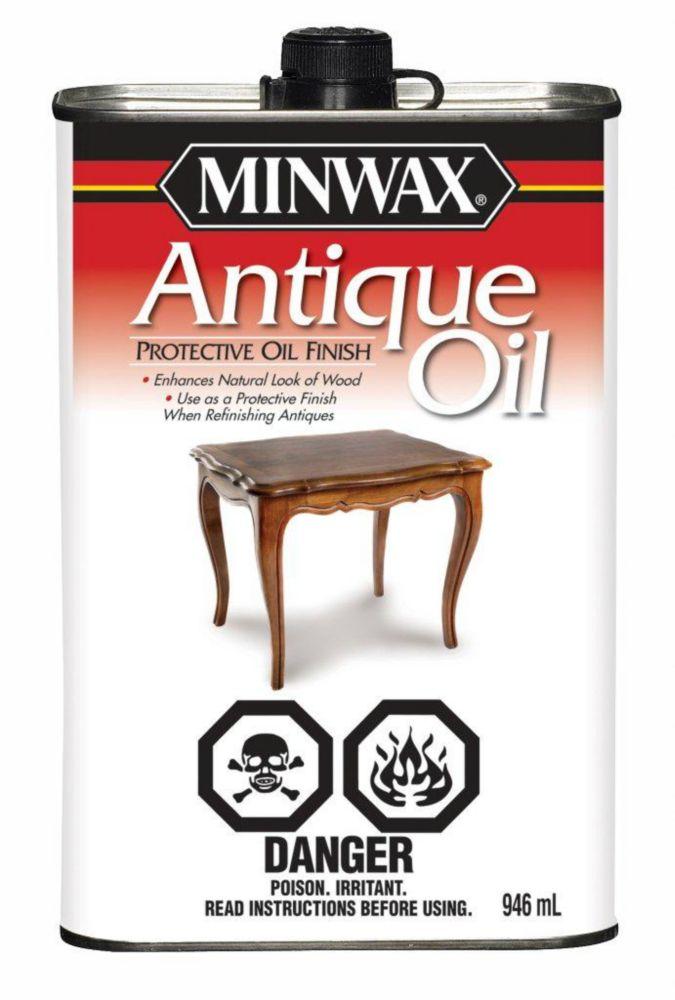 Antique Oil Natural