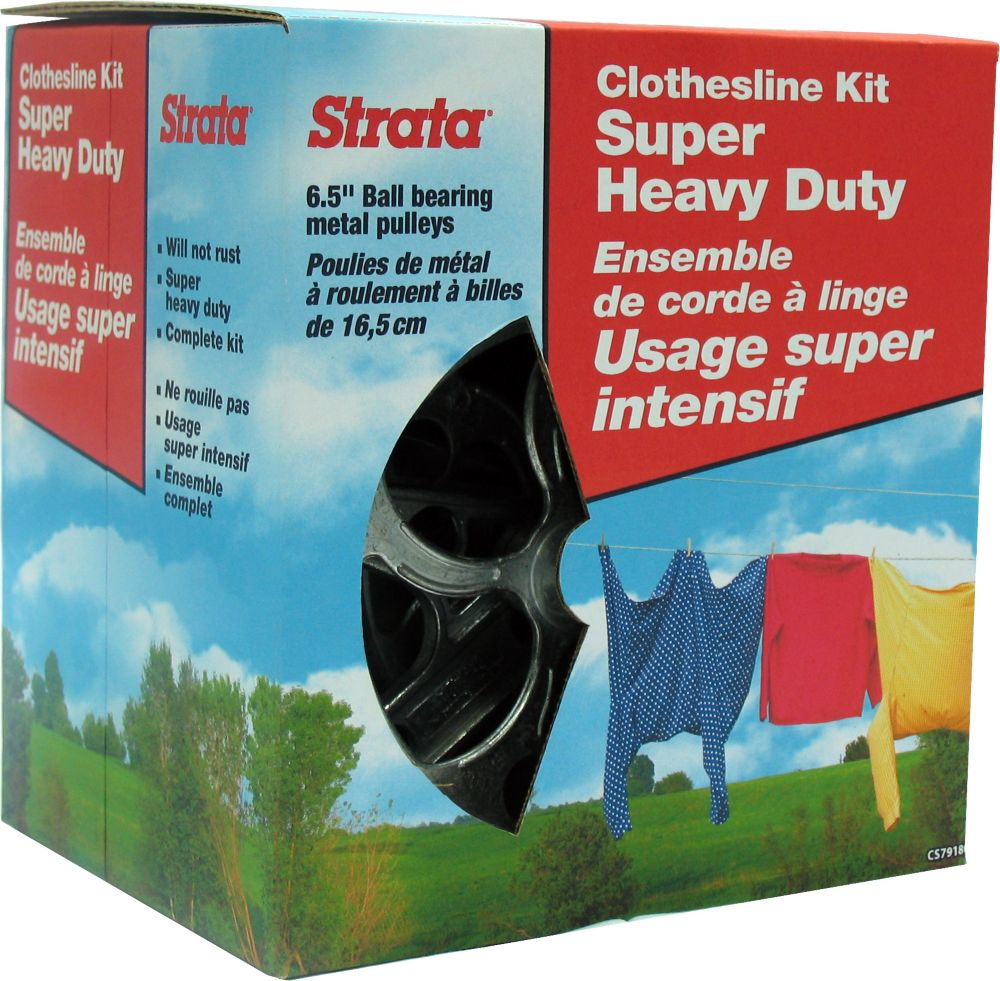 Heavy Duty Clothesline Kit