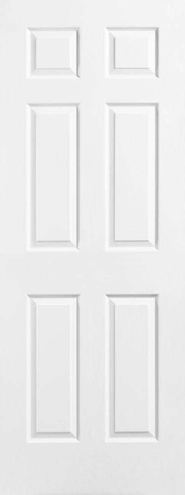 26-inch x 78-inch 6-Panel Door