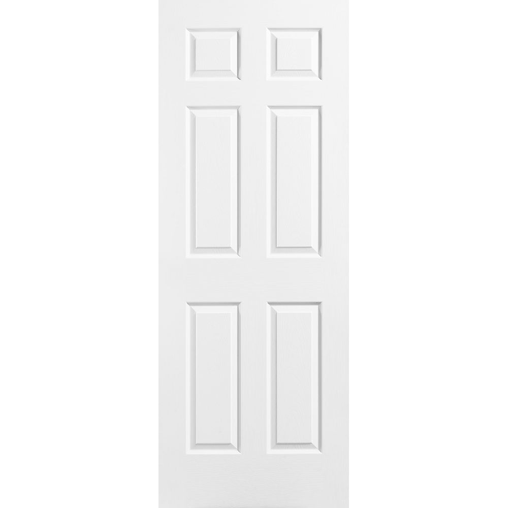Masonite 26-inch x 78-inch 6-Panel Door