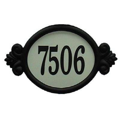 Classic Reflective DIY Address Plaque