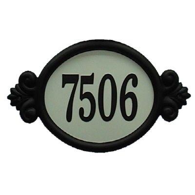 Classic Reflective DIY Address Plaque